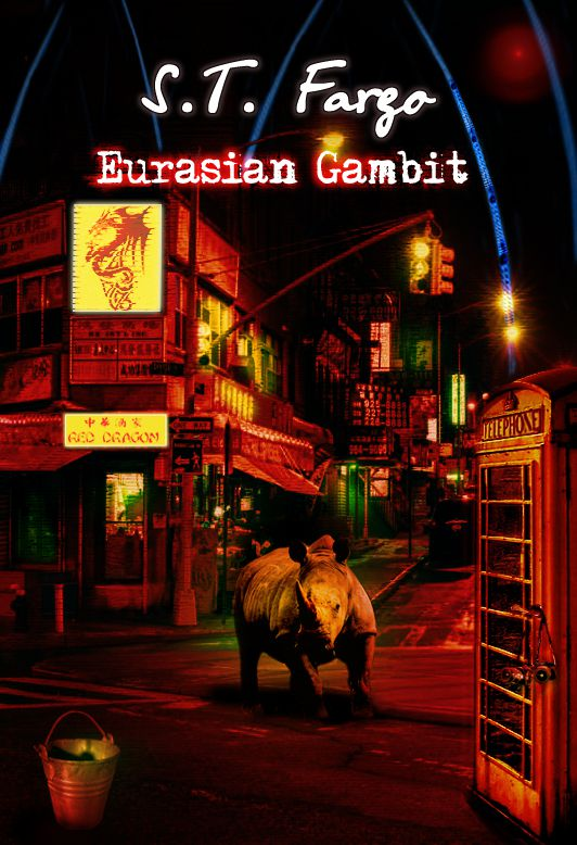 Eurasian Gambit—a sci-fi crime novel and detective fiction